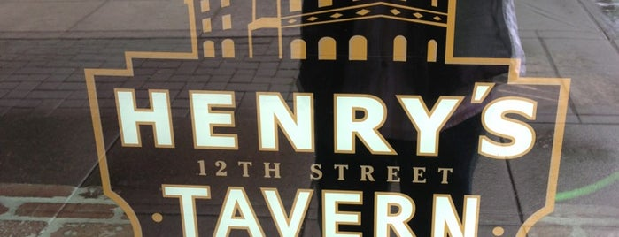 Henry's 12th Street Tavern is one of Portland's Best Beer - 2013.