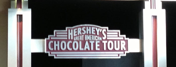 Hershey Chocolate Factory is one of Factory Tours.