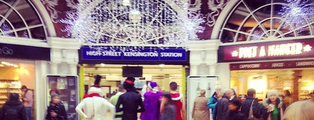 High Street Kensington London Underground Station is one of District Line.