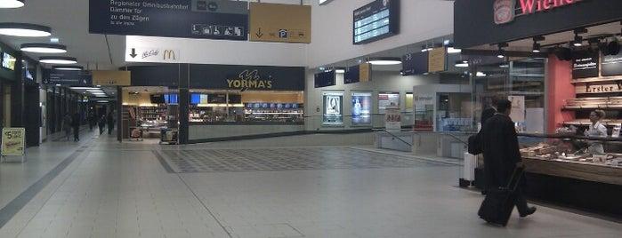 Aschaffenburg Hauptbahnhof is one of DB ICE-Bahnhöfe.