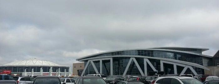 CNN Center Upper Deck Parking Lot is one of #416by416 - Dwayne list1.