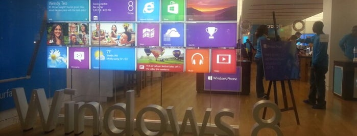 Microsoft Store is one of #416by416 - Dwayne list1.