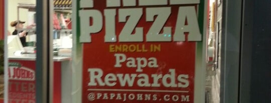 Papa John's Pizza is one of #416by416 - Dwayne list1.