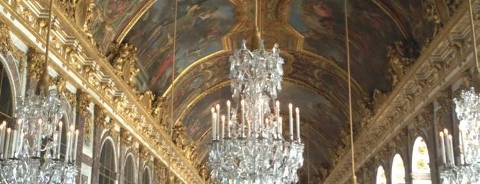 Galerie des Glaces is one of Château de Versailles.