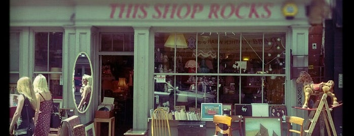 This Shop Rocks is one of I 💙 Shoreditch and Hoxton.