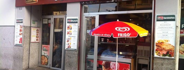 Café &Té is one of Madrid.