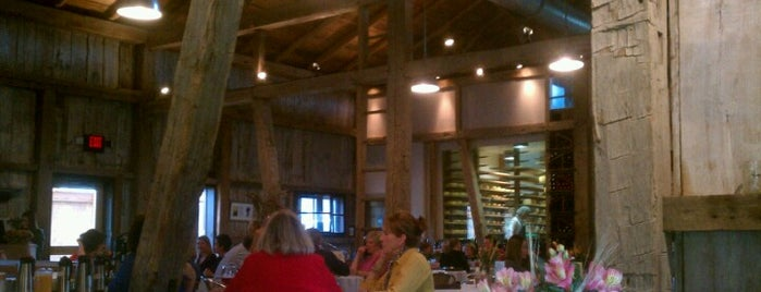 The Loft Restaurant at Traders Point Creamery is one of Places to eat in INDY.