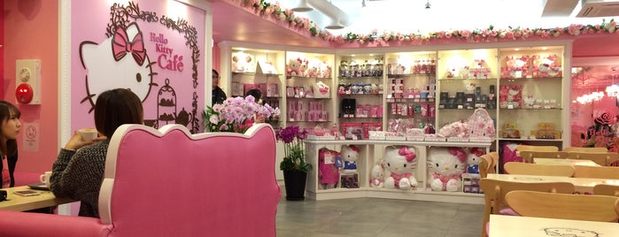 Hello Kitty Cafe is one of Travel.