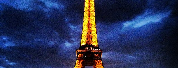 Eiffel Tower is one of My Amazing Race.