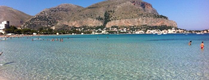 Spiaggia di Mondello is one of sicilia.