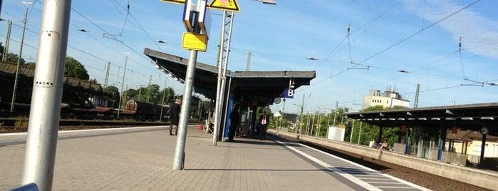 Gütersloh Hauptbahnhof is one of Bahnhöfe DB.