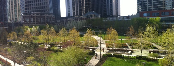 Lakeshore East Park is one of Chicago.