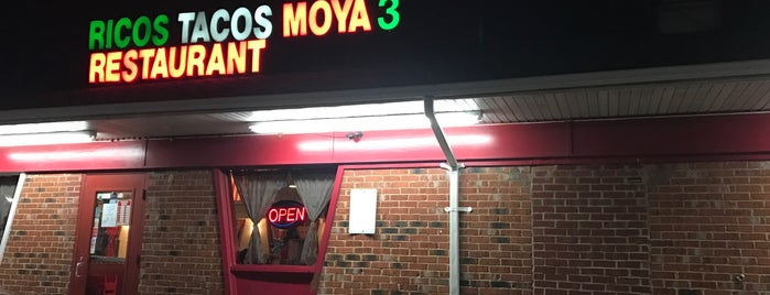 Ricos Tacos Moya is one of DC Area.