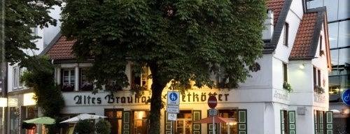 Brauhaus Rietkötter is one of Bochum's Restaurant.