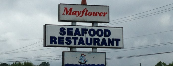 Mayflower is one of Food joints.