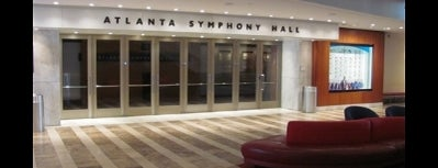 Atlanta Symphony Hall is one of Places I Visit : Atlanta.