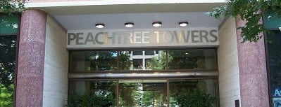 Peachtree Towers is one of Places I Visit : Atlanta.