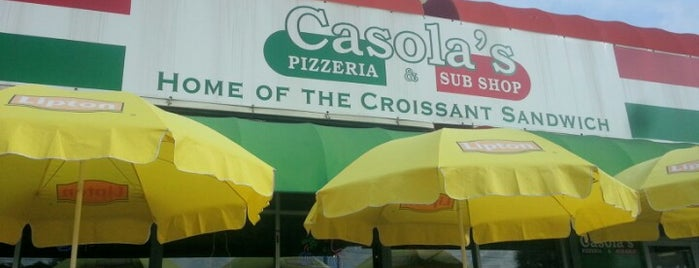 Casola's Pizzeria and Sub Shop is one of HUNGRY.
