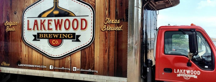 Lakewood Brewing Company is one of Texas Craft Breweries.