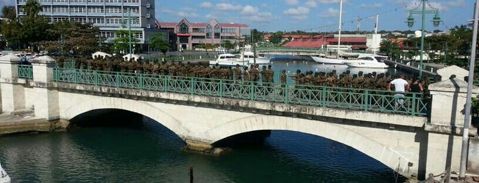 Bridgetown is one of World Capitals.