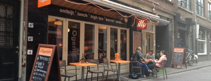 Brasserie 't Ogenblik is one of Den Haag Restaurants.