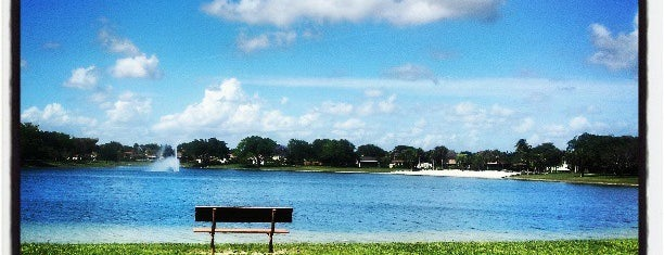 Hammocks lake (8 mile loop) is one of Miami.