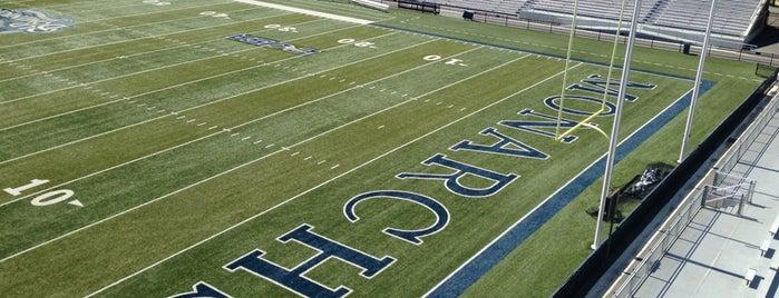 Foreman Field at S.B. Ballard Stadium is one of ODU.