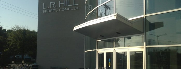 L. R. Hill Sports Complex is one of ODU.