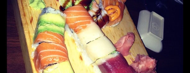 Cherin Sushi is one of Bollare's Little Black Book: NYC Edition.