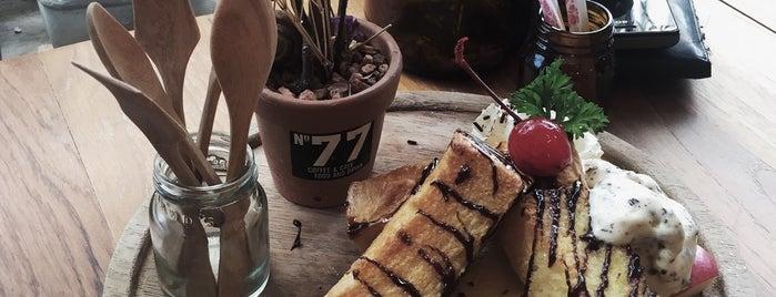 No.77 Cafe is one of ลำพูน, ลำปาง, แพร่, น่าน, อุตรดิตถ์.