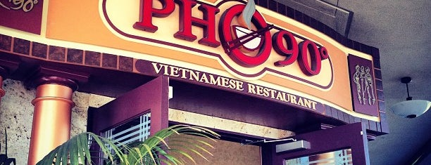 Pho 90° is one of South Bay.