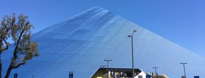 Walter Pyramid is one of Sporting Venues To Visit.....