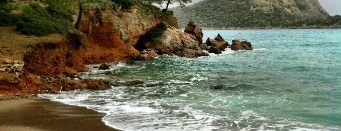 Gemiler Koyu is one of Fethiye, Turkey.