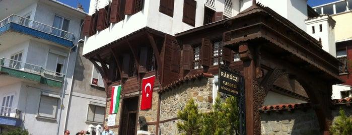 Rákóczi Müzesi is one of Tarih/Kültür (Marmara).