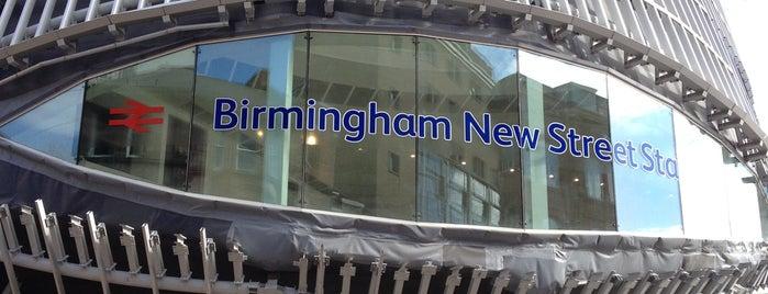 Birmingham New Street Railway Station (BHM) is one of Terminais!.