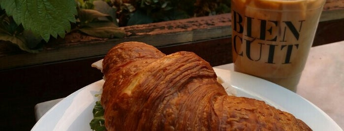 Bien Cuit is one of America's Best Croissants.