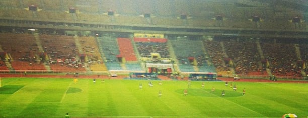 Stadium Shah Alam is one of Meus lugares.