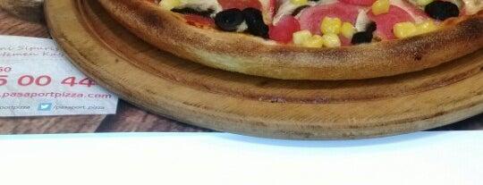 Pasaport Pizza is one of Baranoğlu cafe pastane restorant.