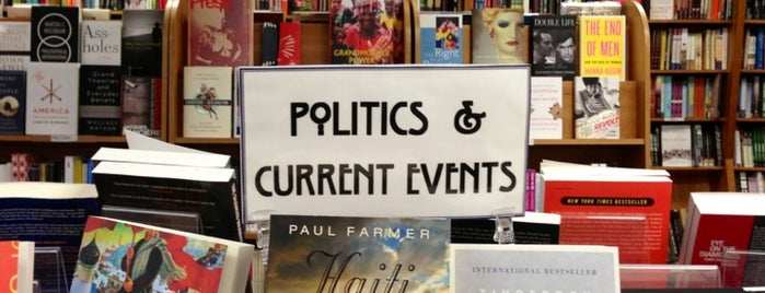 Politics & Prose Bookstore is one of Washington D.C.'s Best Bookstores - 2012.