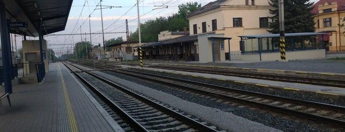 Železniční stanice Praha-Horní Počernice is one of Železniční stanice ČR: P (9/14).