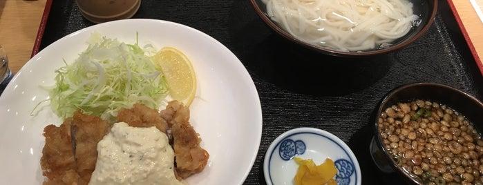 戸隠 中洲川端店 is one of うどん 行きたい.