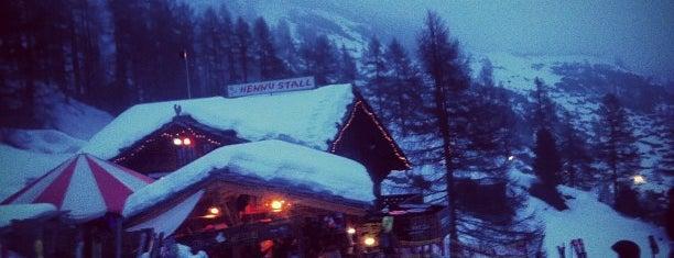 Hennu Stall is one of zermatt.