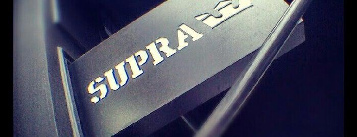 Supra is one of Paris.
