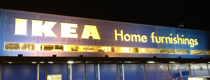 IKEA is one of Glasgow I was there.