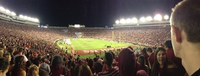 Doak Campbell Stadium is one of First Year at FSU Must Do's.