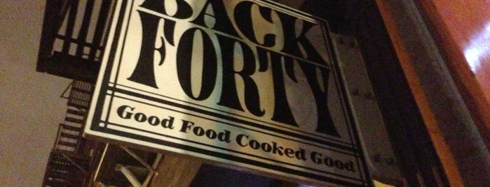 Back Forty is one of NYC Restaurants With Outdoor Seating.