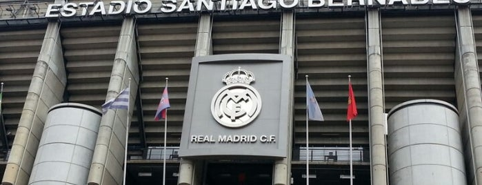 Santiago Bernabéu Stadium is one of Madrid.