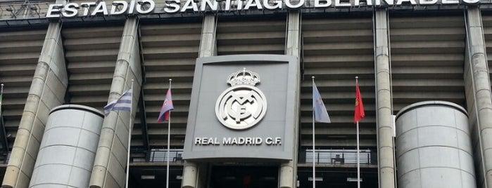 Estadio Santiago Bernabéu is one of Madrid.