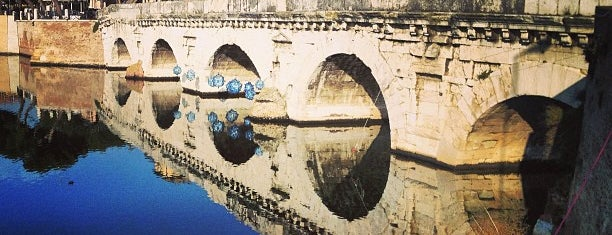Ponte di Tiberio is one of ITINERARI E LUOGHI IN TERRA DI ROMAGNA.