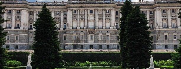 Jardines de Sabatini is one of Rincones madrileños..